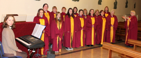 St.Fergal's Gospel Choir. 550D 008