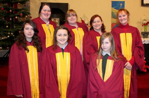 St.Fergal's Gospel Choir. 550D 039