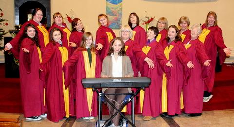St.Fergal's Gospel Choir. 550D 044